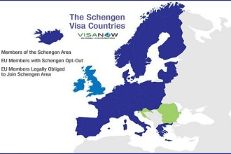 Schengen countries